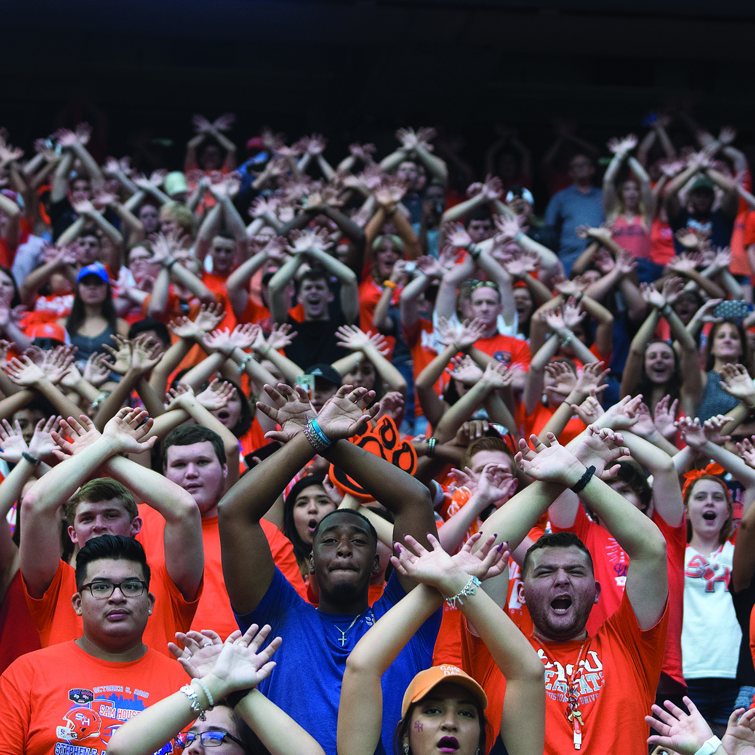 Bearkat Nation Fans